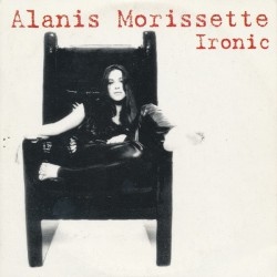 Alanis Morissette ‎- Ironic - CD Single