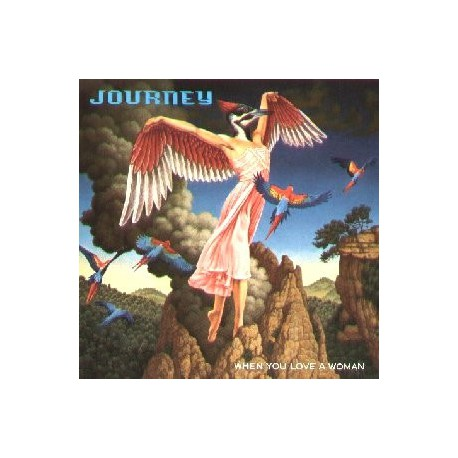 Journey ‎– When You Love A Woman Maxi Vinyl