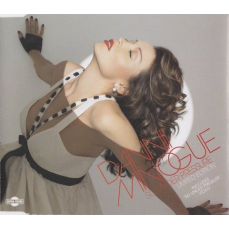 Dannii Minogue - So Under Pressure - CD Maxi Single Limited Edition