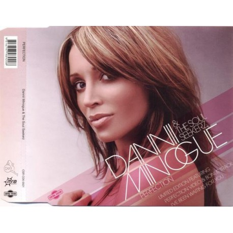Dannii Minogue & Soul Seekerz - Perfection - CD Maxi Single LImited Edition