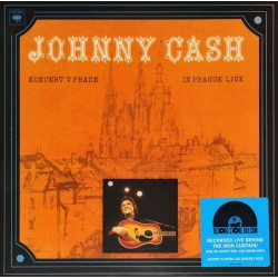 Johnny Cash ‎- Koncert V Praze (In Prague Live) - LP Vinyl - Coloured Red