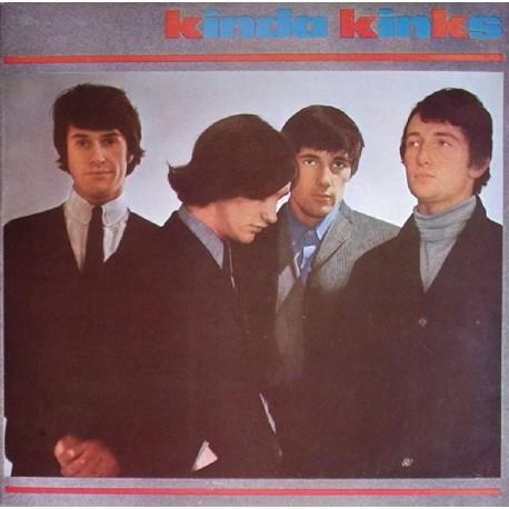 The Kinks - Kinda KInks - LP Vinyl - Coloured Red