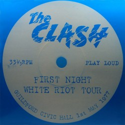 The Clash - First Night White Riot Tour - LP Vinyl