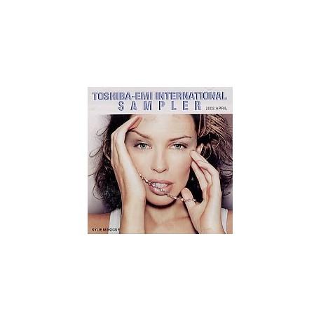 Kylie Minogue - Toshiba-EMI International Sampler - CD Sampler Promo