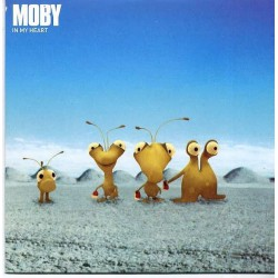 Moby ‎- In My Heart - CD Single Promo