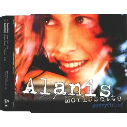 Alanis Morissette ‎- Everything - CD Maxi Single Promo