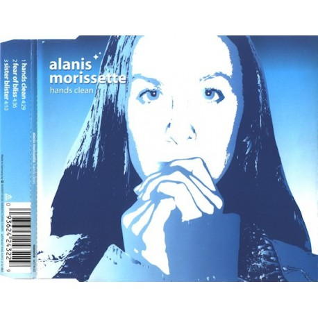 Alanis Morissette ‎- Hands Clean - CD Maxi Single Promo