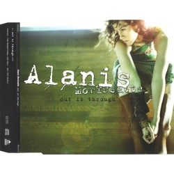Alanis Morissette ‎- Out Is Through - CD Maxi Single Promo