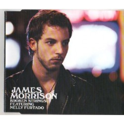 James Morrison Featuring Nelly Furtado ‎- Broken Strings - CD Maxi Single Promo