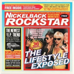 Nickelback ‎ - Rockstar - CD Maxi Single