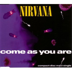 Nirvana ‎- Come As You Are - CD Maxi Single
