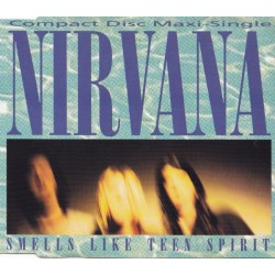 Nirvana ‎- Smells Like Teen Spirit - CD Maxi Single