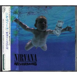 Nirvana ‎- Nevermind - CD Album avec Obi