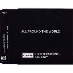Oasis - All Around The World - CD Maxi Single Promo