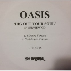 Oasis - Dig Out Your Soul - Interview - CDr Single Promo