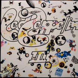 Led Zeppelin III - Israel - Coloured Green