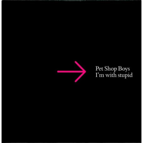 Pet Shop Boys - I'm With Stupid - CD Single Promo