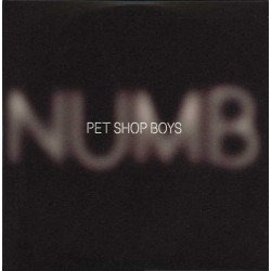 Pet Shop Boys ‎- Numb - CD Single Promo