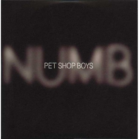 Pet Shop Boys - Numb - CD Single Promo