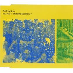 Pet Shop Boys - Se A Vida É (That's The Way Life Is) - CD Maxi Single