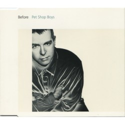 Pet Shop Boys ‎- Before - CD Maxi Single