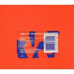 Pet Shop Boys ‎- Very - CD Album