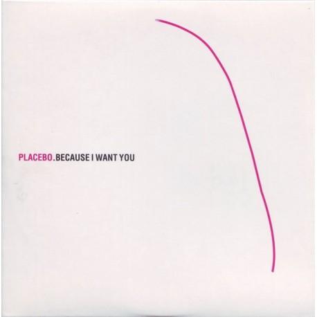 Placebo - Because I Want You - CD Single Promo
