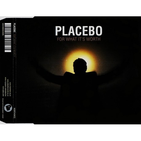 Placebo - For What It's Worth - CD Maxi Single