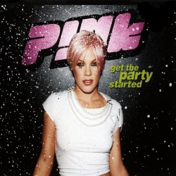 Pink - Get The Party Started - CD Maxi Single Promo