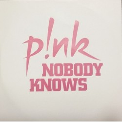 Pink - Nobody Knows - CDr Single Promo