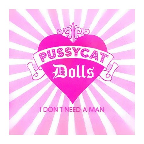 Pussycat Dolls - I Don't Need A Man - CDr Single Promo