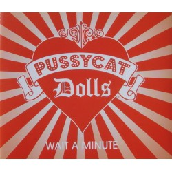 Pussycat Dolls featuring Timbaland - Wait A Minute - CD Maxi Single Promo