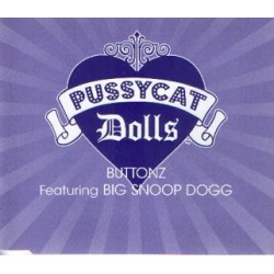 Pussycat Dolls Featuring Snoop Dogg ‎- Buttonz - CD Maxi Single Promo