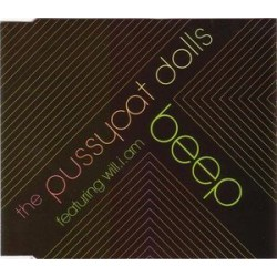 Pussycat Dolls Featuring will.i.am - Beep - CD Maxi Single Promo
