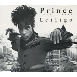 Prince ‎- Letitgo - CD Maxi Single