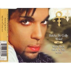 Prince (The Artist) - Betcha By Golly Wow! / Right Back Here In My Arms - CD Maxi Single