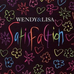 Wendy & Lisa ‎(Prince) - Satisfaction - CD Maxi Single
