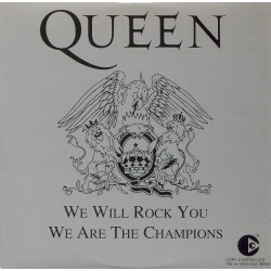 Queen ‎- We Will Rock You / We Are The Champions - CD Single