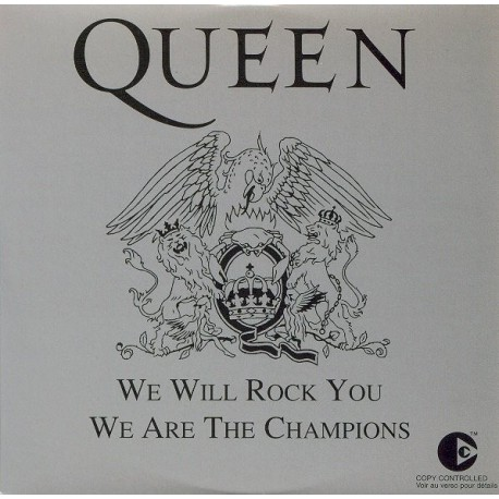 Queen - We Will Rock You / We Are The Champions - CD Single
