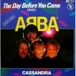 ABBA ‎– The Day Before You Came Maxi France