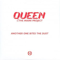 Queen Vs Miami Project - Another One Bites The Dust - CD Single Promo