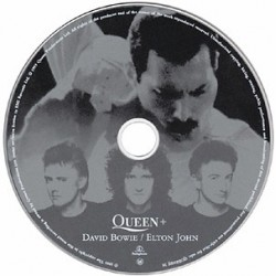 Queen + David Bowie / Elton John ‎- Under Pressure - CD Maxi Single Promo