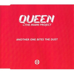 Queen Vs Miami Project - Another One Bites The Dust - CD Maxi Single Promo