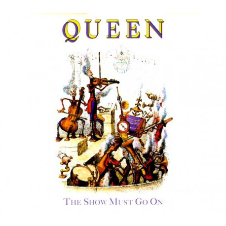 Queen ‎- The Show Must Go On - CD Maxi Single