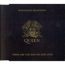 Queen - Bohemian Rhapsody / These Are The Days Of Our Lives - CD Maxi Single