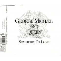 George Michael And Queen - Somebody To Love - CD Maxi Single