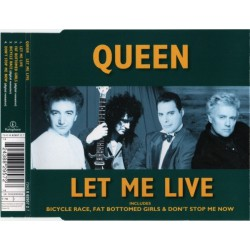 Queen ‎- Let Me Live - CD Maxi Single