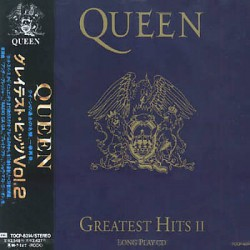 Queen ‎- Greatest Hits II - CD Album + OBI