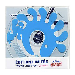 Queen - We Will Rock You - Le Remix French - Evian - CD Single