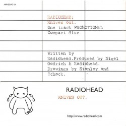Radiohead - Knives Out - CD Single Promo